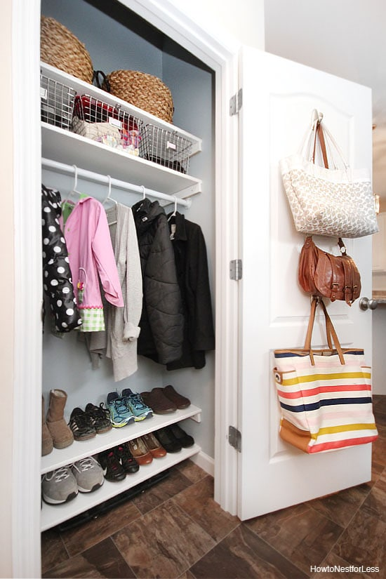 Top ace projects how to nest for less for How do you organize your closet