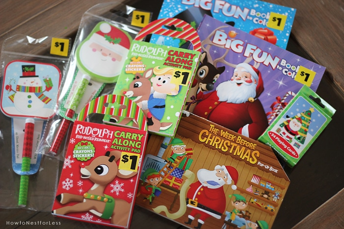 3 Dollar General Christmas Coloring Books