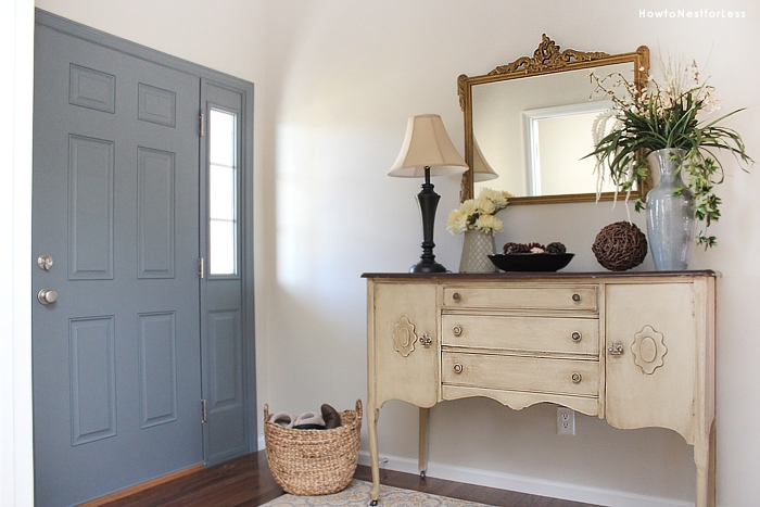 Painted Foyer Door : Entryway foyer makeover how to nest for less™