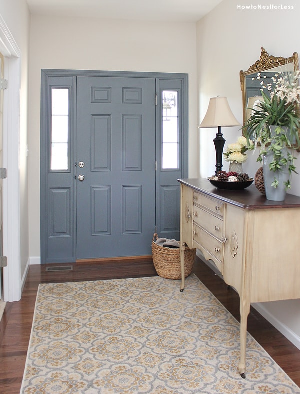 Foyer Door Color : One year later how to nest for less™