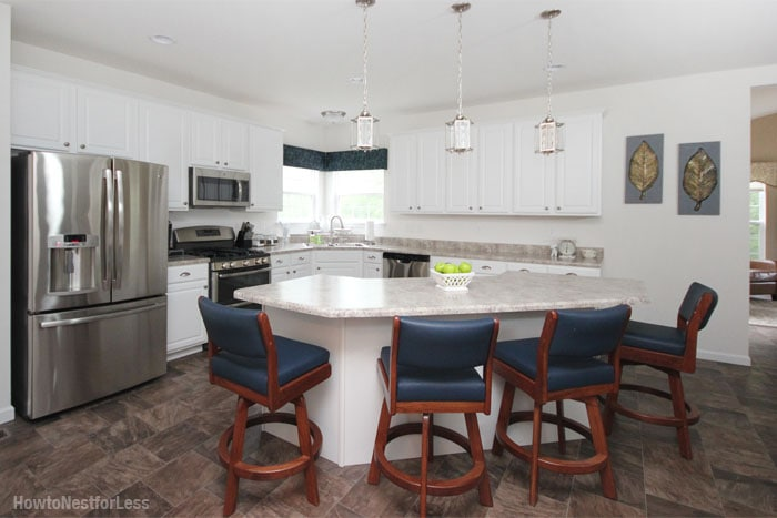 Fancy how to nest for less kitchen