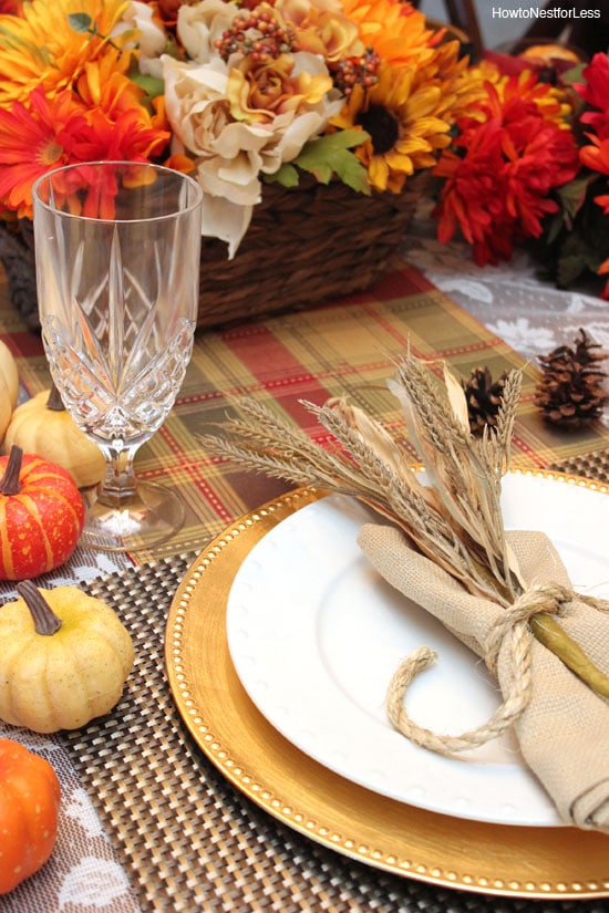 thanksgiving table setting ideas & Thanksgiving Table Setting Ideas - Thanksgiving Place Settings