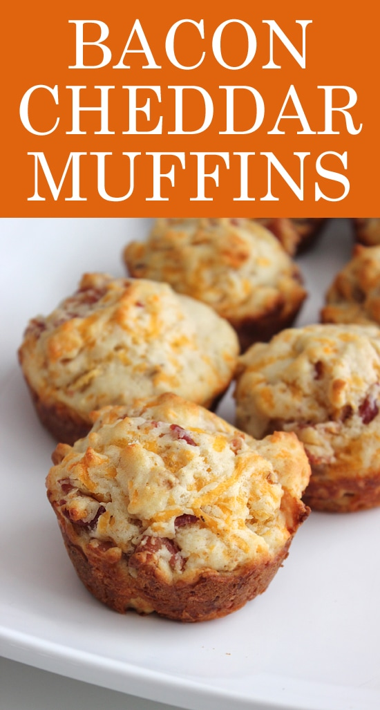 bacon cheddar muffin recipe