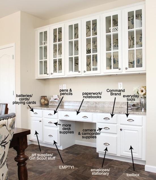 butler's pantry organization