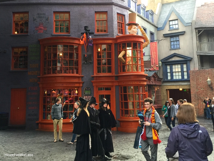 diagon alley harry potter world