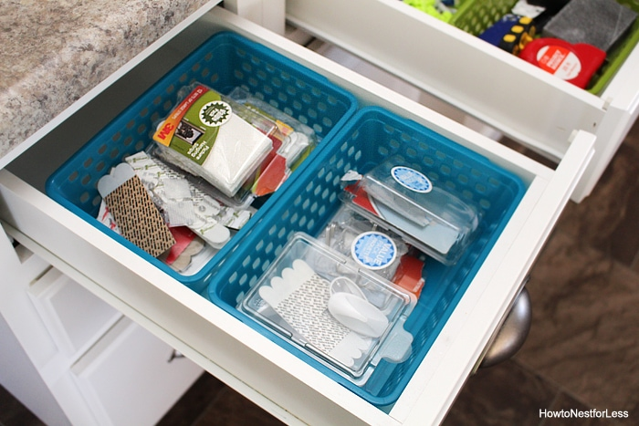 junk drawer organization tips