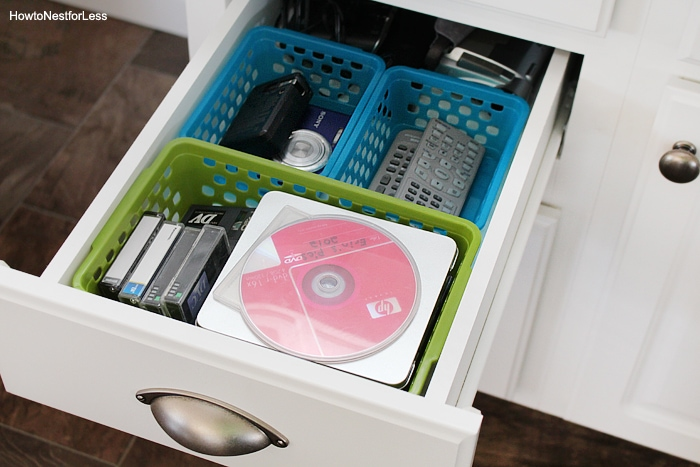 junk drawer organize