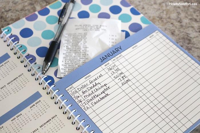 kitchen bill organization
