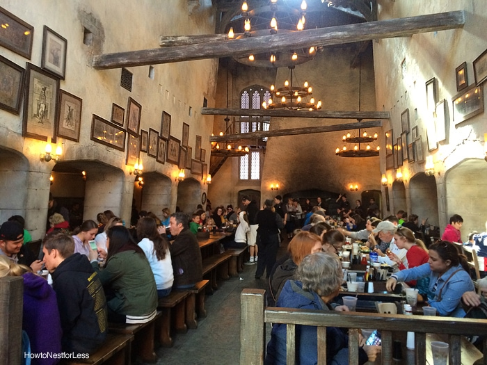leaky cauldron restaurant