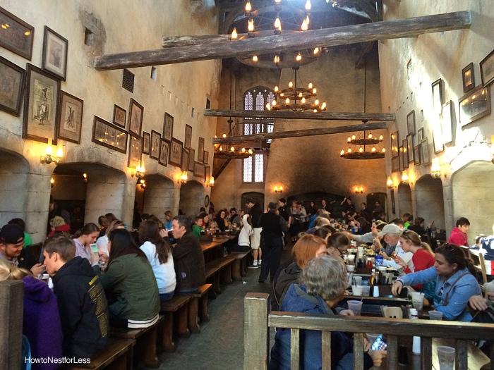 leaky cauldron restaurant