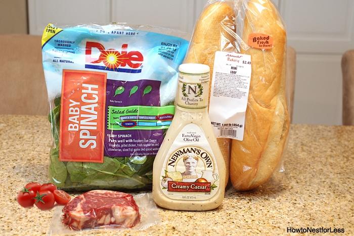 steak bruschetta ingredients