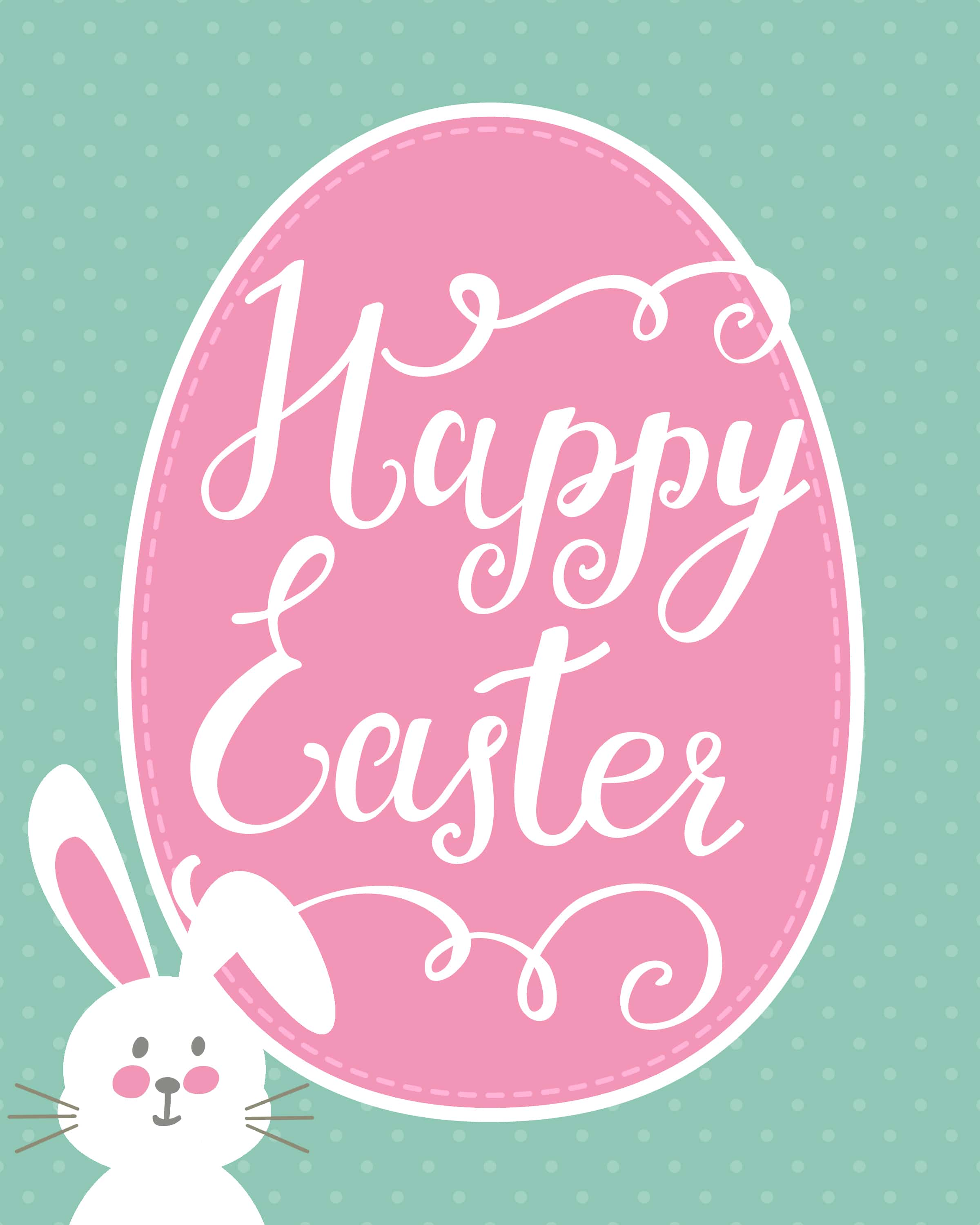 "picture regarding Easter Bunny Printable named Delighted Easter Bunny Printable - How towards Nest for Lessâ""¢"
