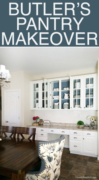 butlers pantry makeover