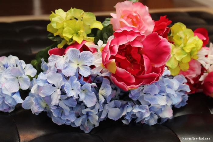 dollar general plastic flowers