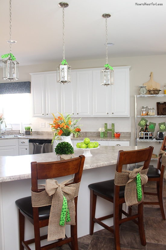 kitchen st patricks day decor