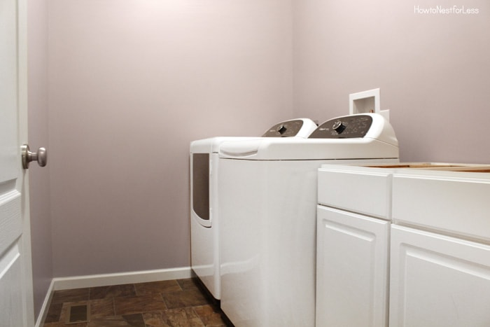 Luxury beige laundry room how to nest for less - Paint colors for laundry room ...