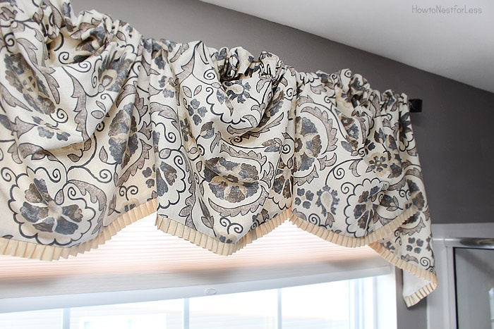 master bathroom window valance