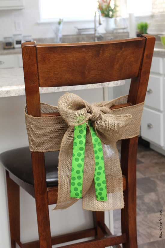 st patricks day chair covers