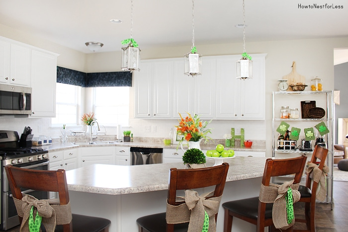 st patricks day kitchen decor