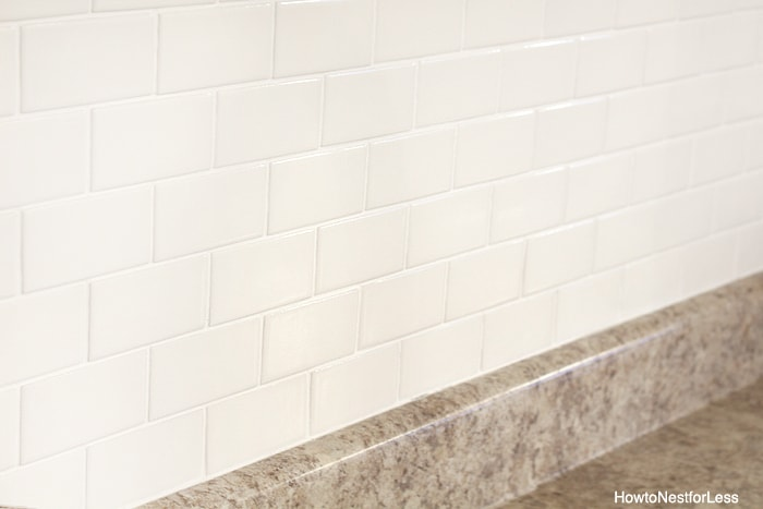 white subway tile butlers pantry