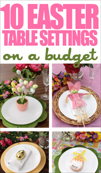 10 easter table settings
