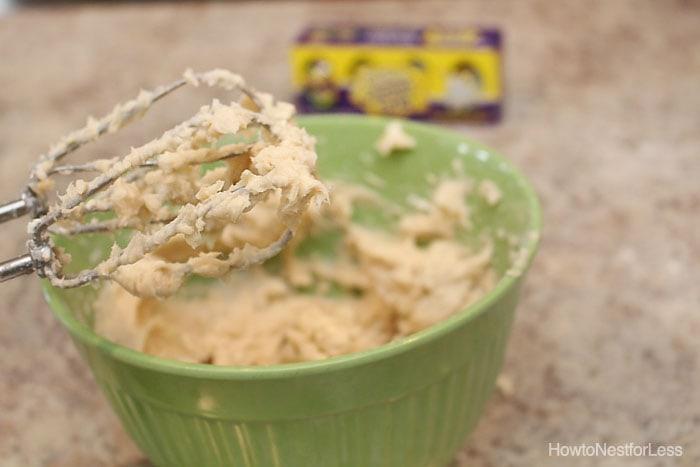 cadbury cream egg easter dip