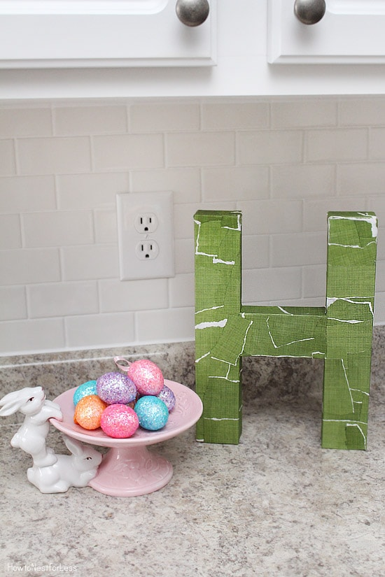 easter kitchen countertop decorations