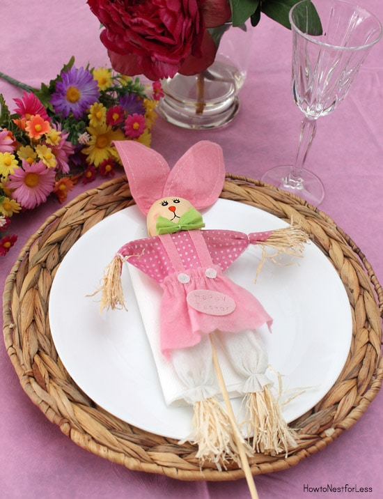 easter table setting & 10 Easter Table Setting Ideas on a Budget - How to Nest for Less™