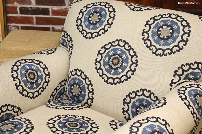 family room medallion chair
