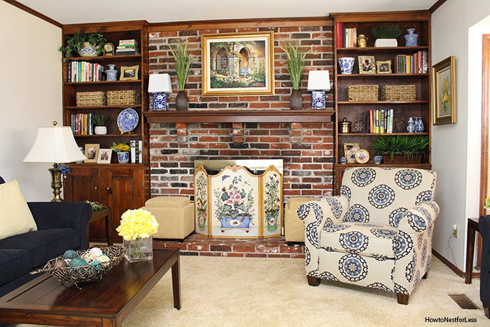 family room parent makeover