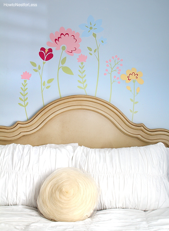 flower bedroom stickers