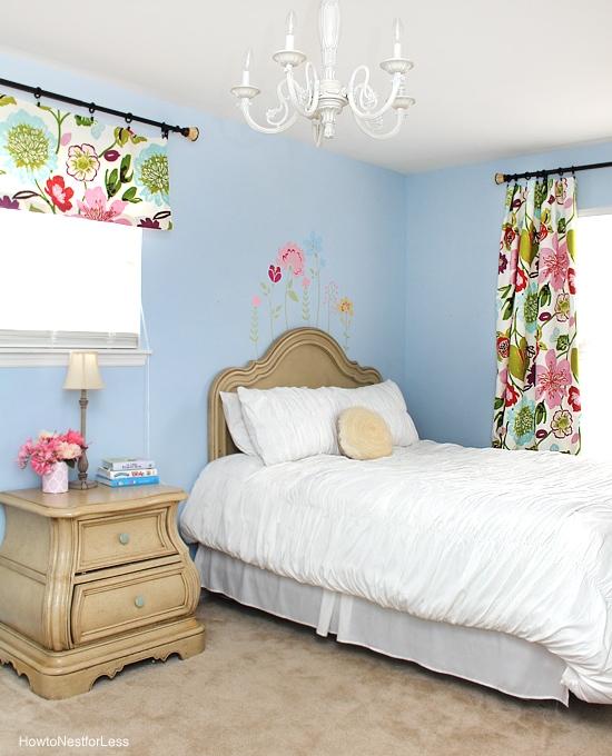 flower girls bedroom