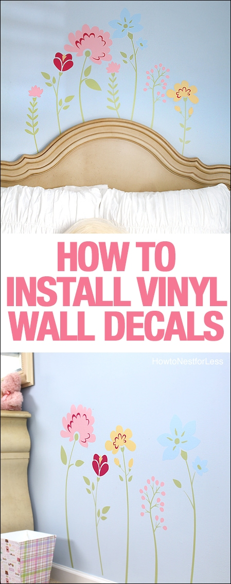 Luxury how to install wall decals