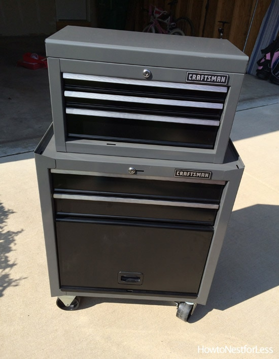 craftsman 5 drawer tool organization