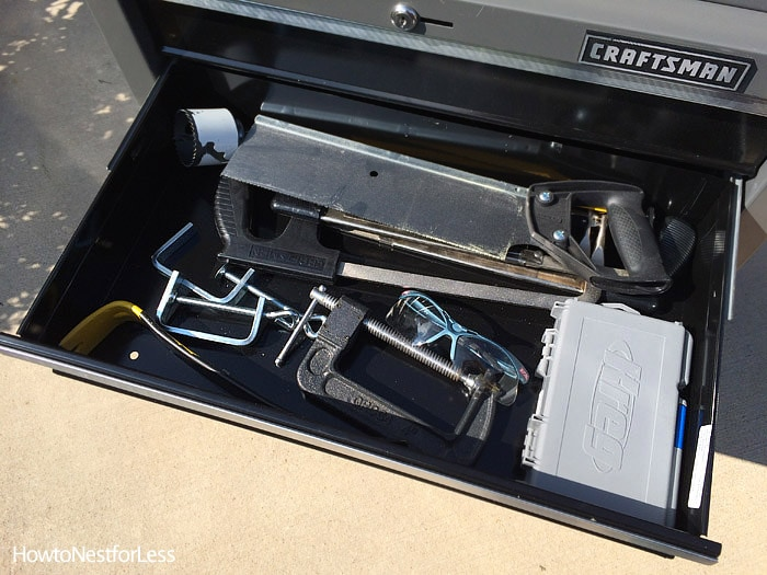 craftsman drawer tool organization