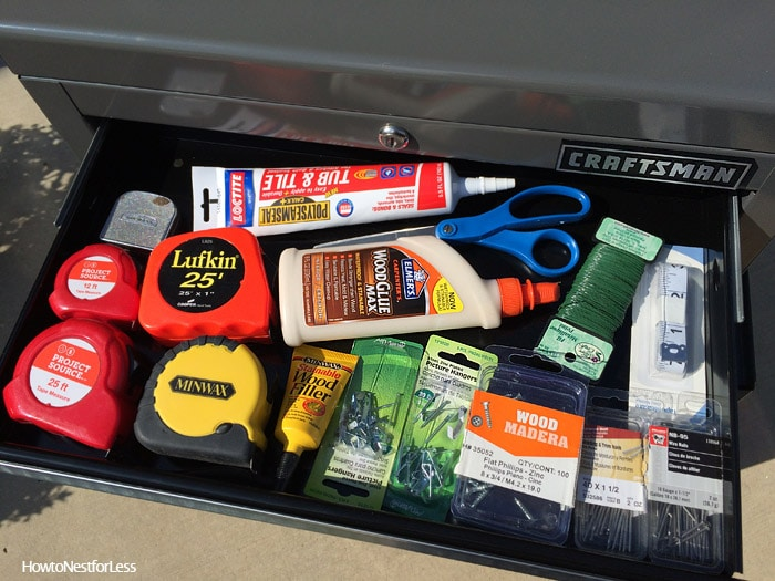 craftsman tool organization drawers