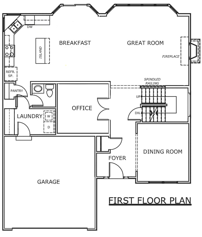 Our New Home: The Floorplan