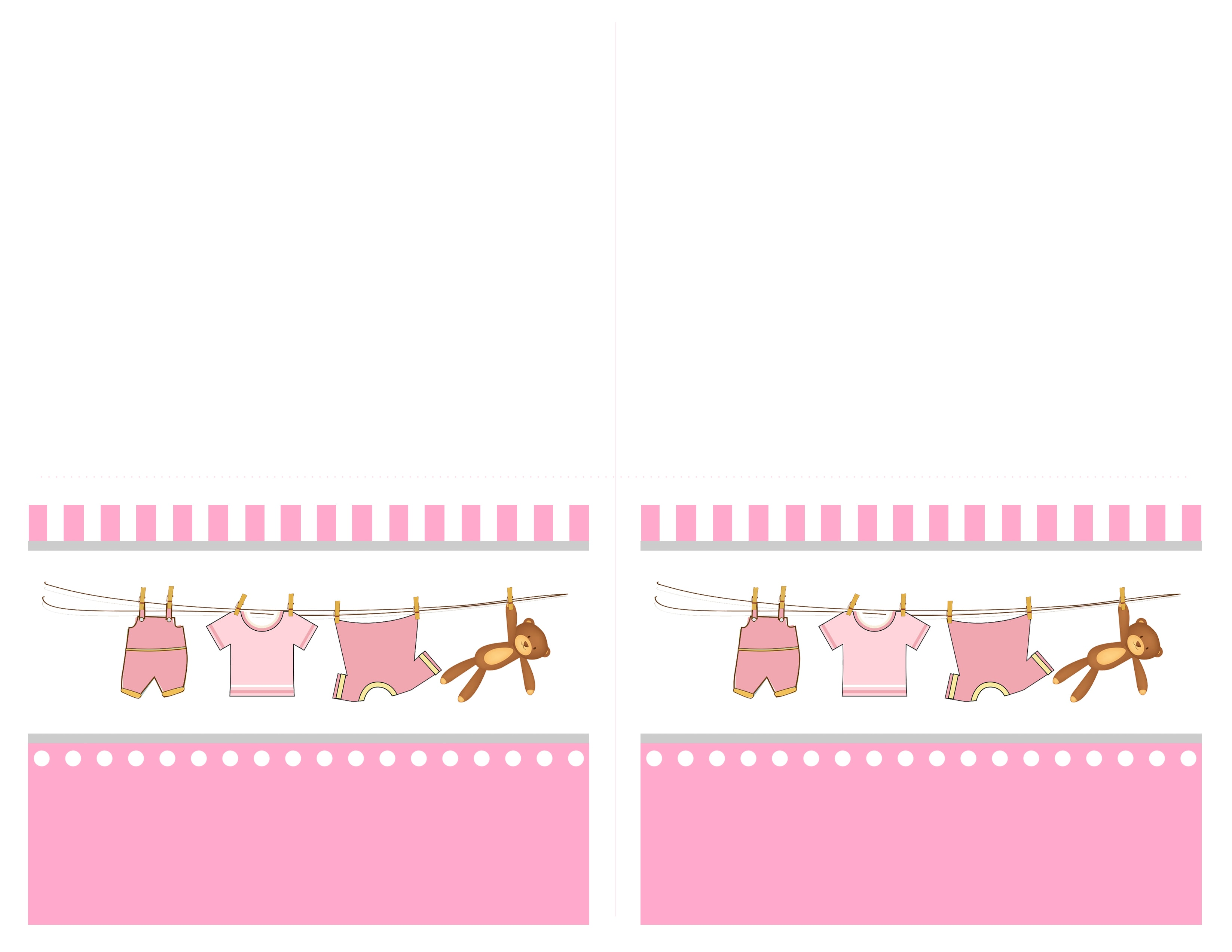 baby shower place cards template - baby girl shower free printables how to nest for less