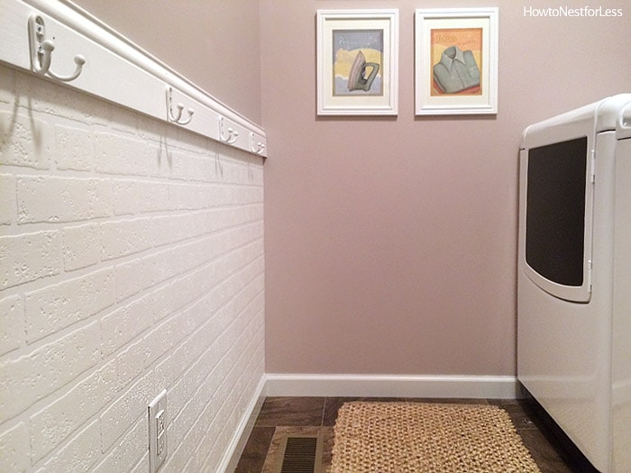 laundry room mud room makeover