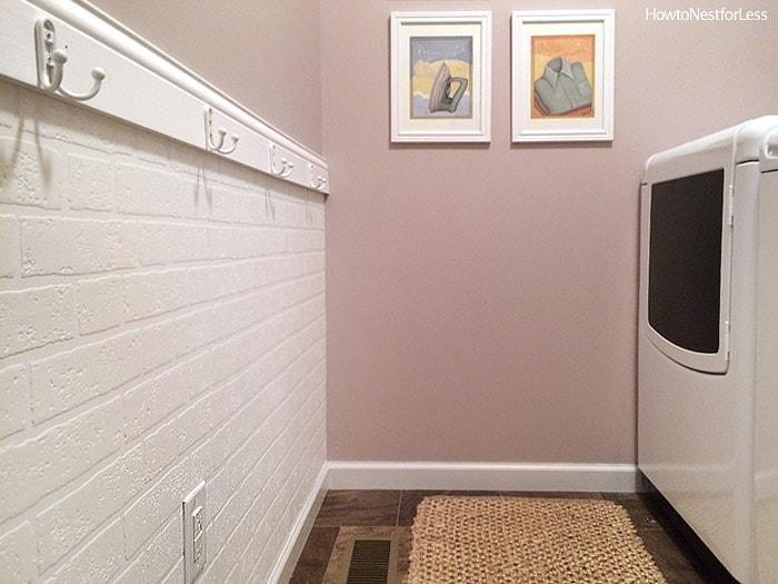 laundry room mud room makeover