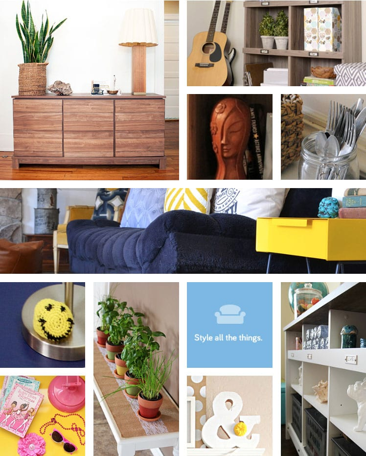 sauder style pages