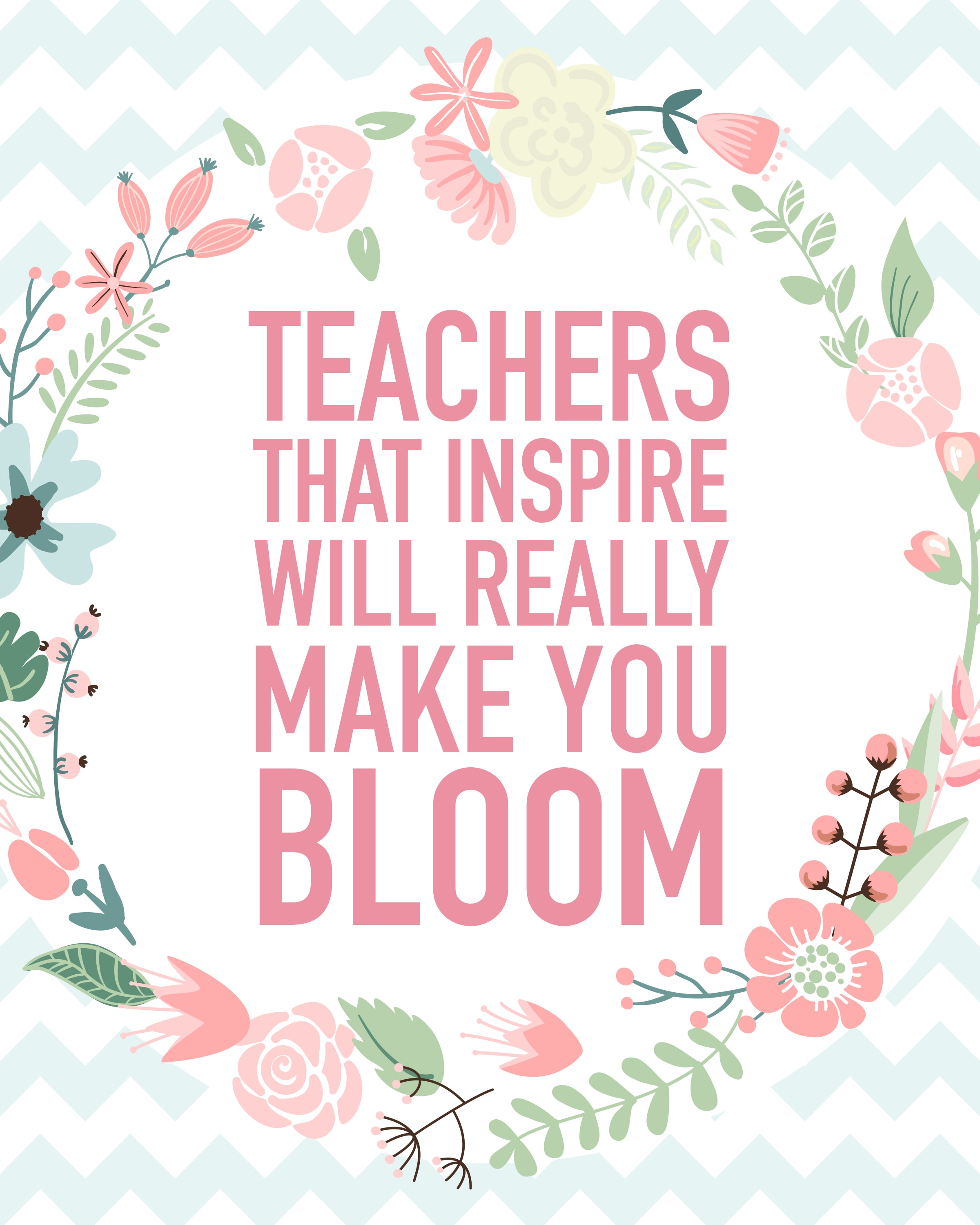 Teacher Appreciation Printable + Blog Hop - How to Nest for Less™
