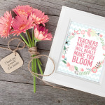 Teacher Appreciation Printable + Blog Hop