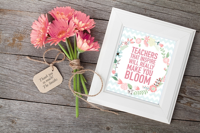 Teacher Appreciation Printable + Blog Hop - How to Nest