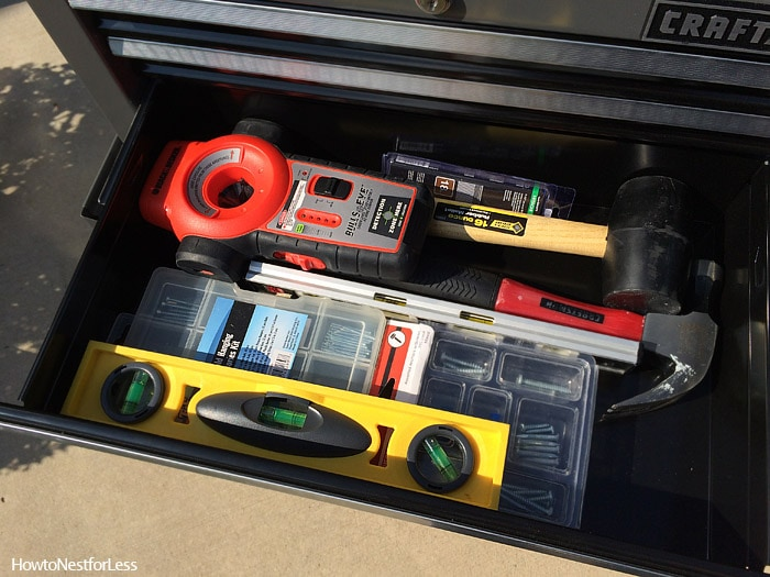 tool organization ideas