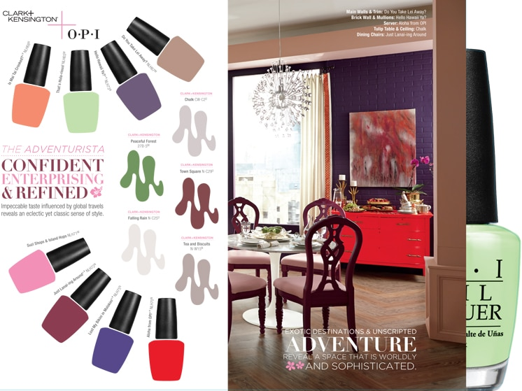 adventurista OPI paint colors ace hardware