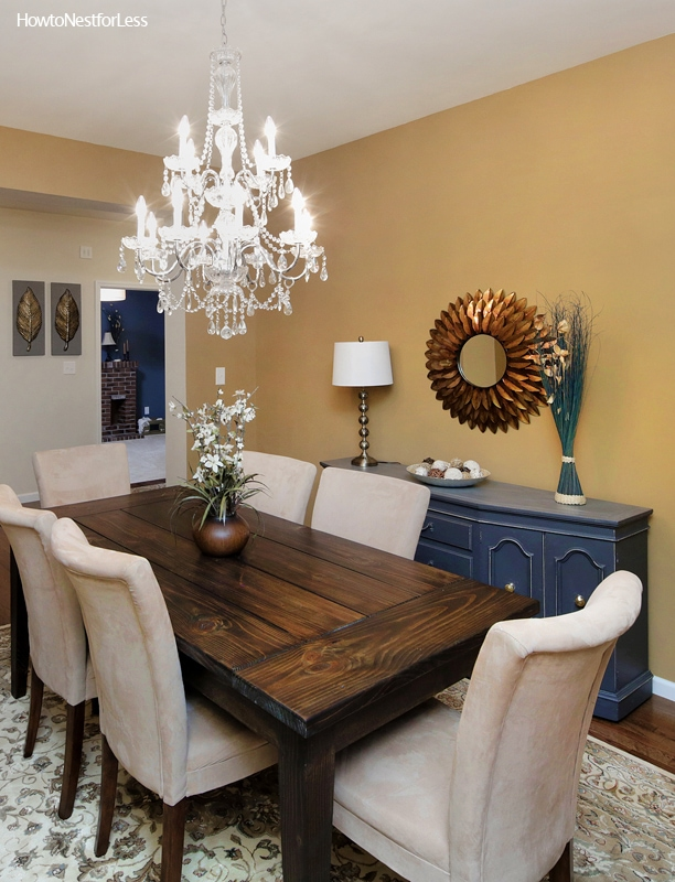 Dining room makeover how to nest for less for Dining room no windows