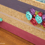 DIY Striped Floral Basket + GIVEAWAY!