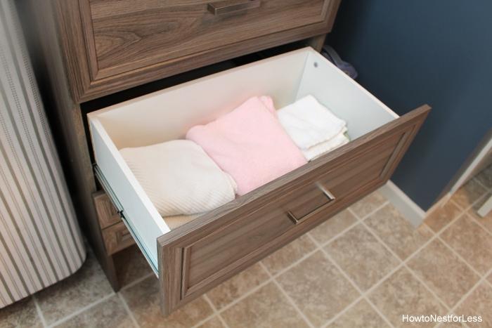 organization laundry room