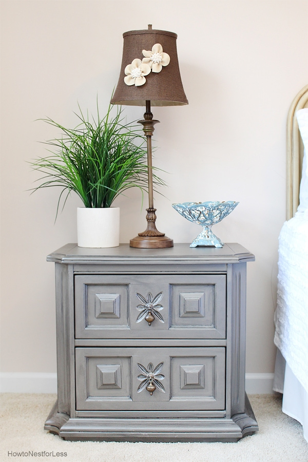 painted nightstands zinc